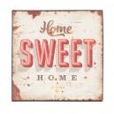 Plechová tabuľka HOME SWEET HOME