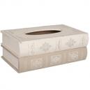Drevený box na papierové vreckovky