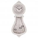 Nástenné vintage hodiny s kalendárom